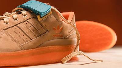Vic Lloyd x adidas Forum Low Chicago Works Harder Detail