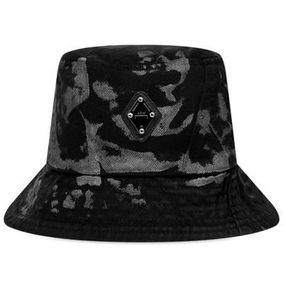 A-COLD-WALL Diamond Logo Bucket Hat Black