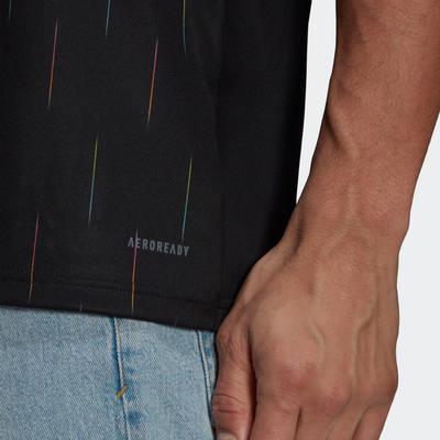adidas Juventus 21-22 Third Jersey Black GS1438 Detail 2