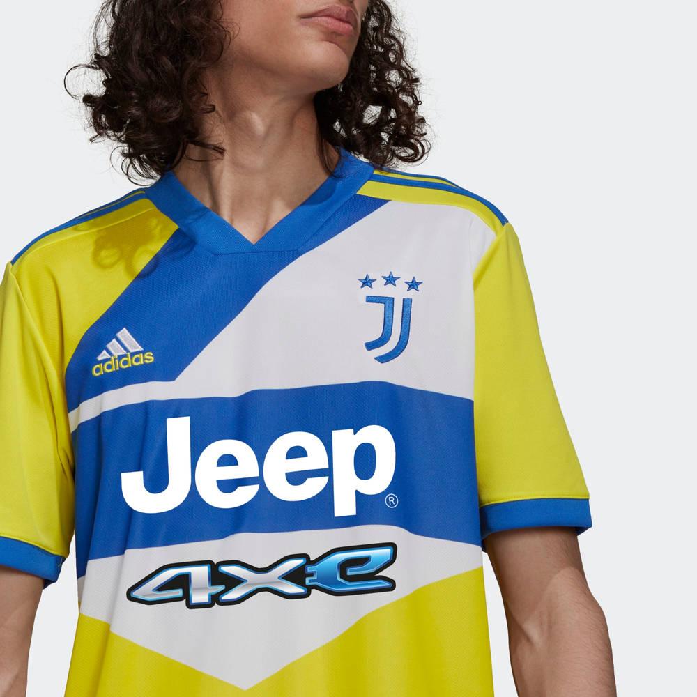 adidas Juventus 21-22 Third Jersey Shock Yellow GS1439 Detail 3