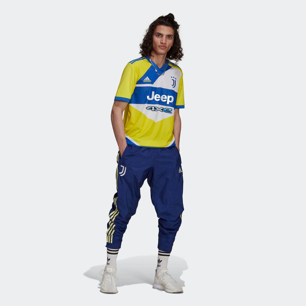 adidas Juventus 21-22 Third Jersey Shock Yellow GS1439 Full