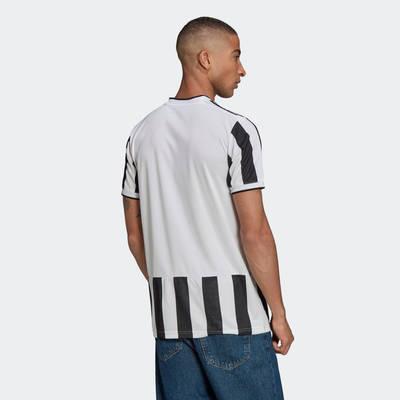 adidas Juventus 21-22 Third Jersey White Black GS1442 Back