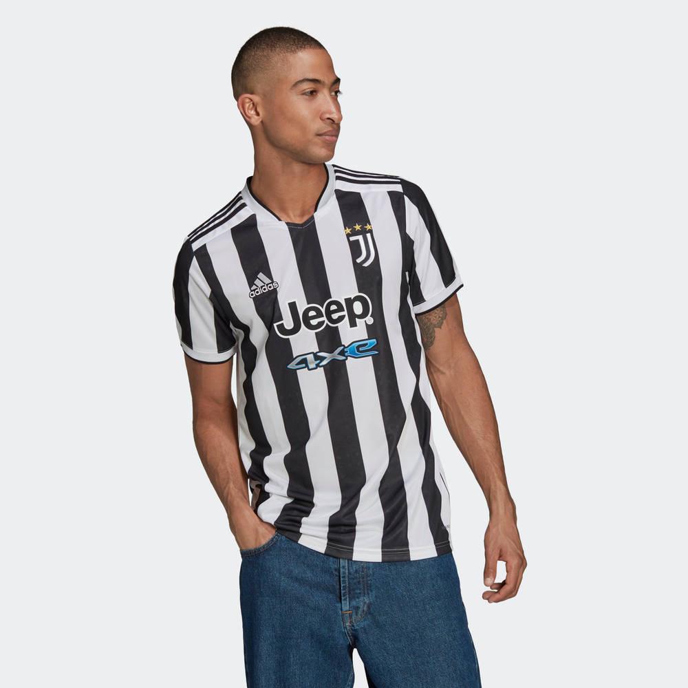 adidas Juventus 21-22 Third Jersey White Black GS1442