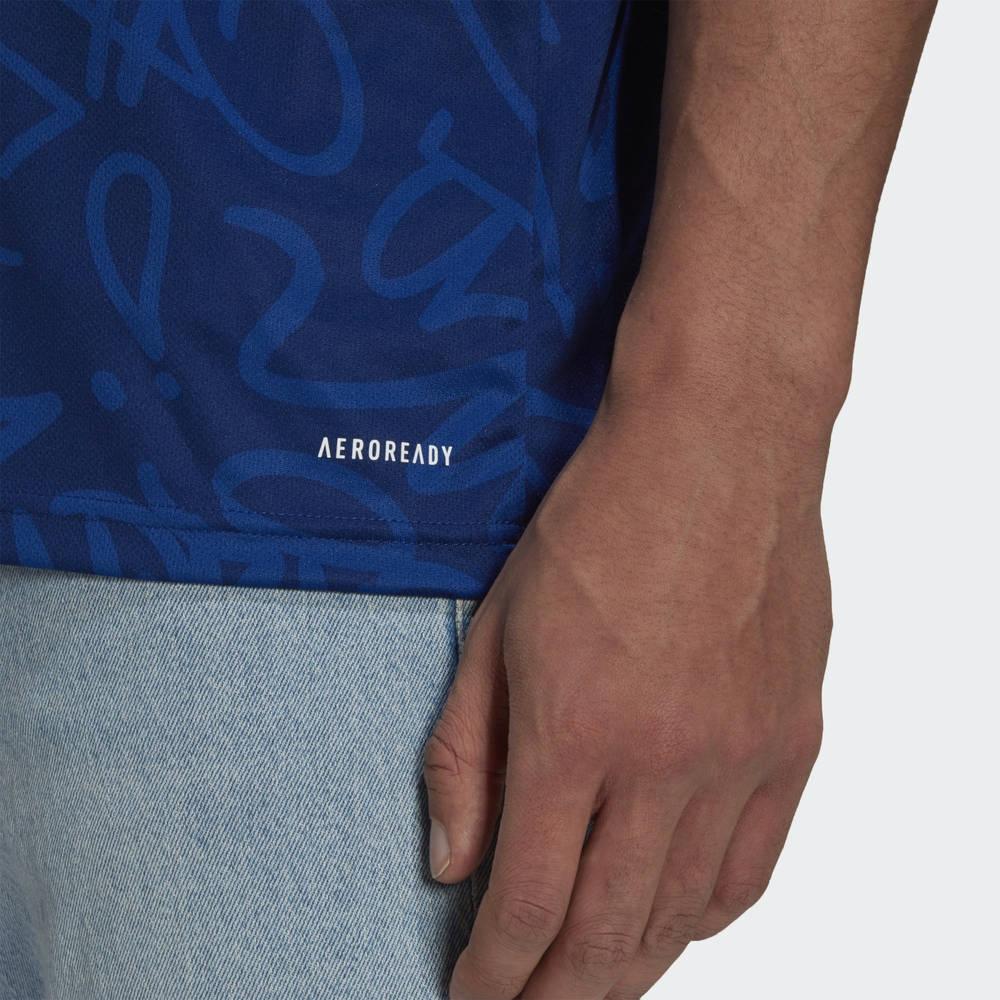 adidas Real Madrid 21-22 Away Jersey H40942 Detail 2