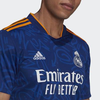 adidas Real Madrid 21-22 Away Jersey H40942 Detail