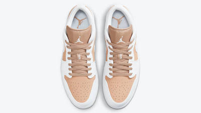 Air Jordan 1 Low Tan White Middle