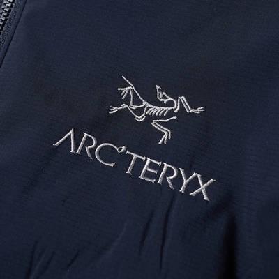 Arc'teryx Atom LT Packable Hooded Jacket Kingfisher Detail 2