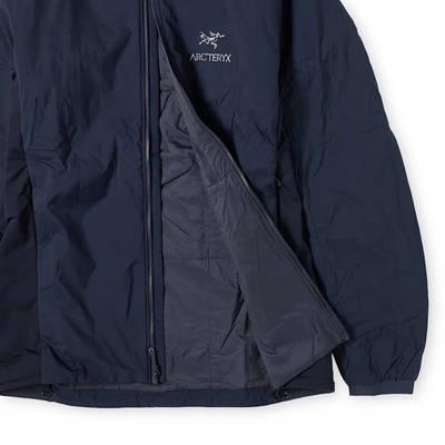 Arc'teryx Atom LT Packable Hooded Jacket Kingfisher Detail