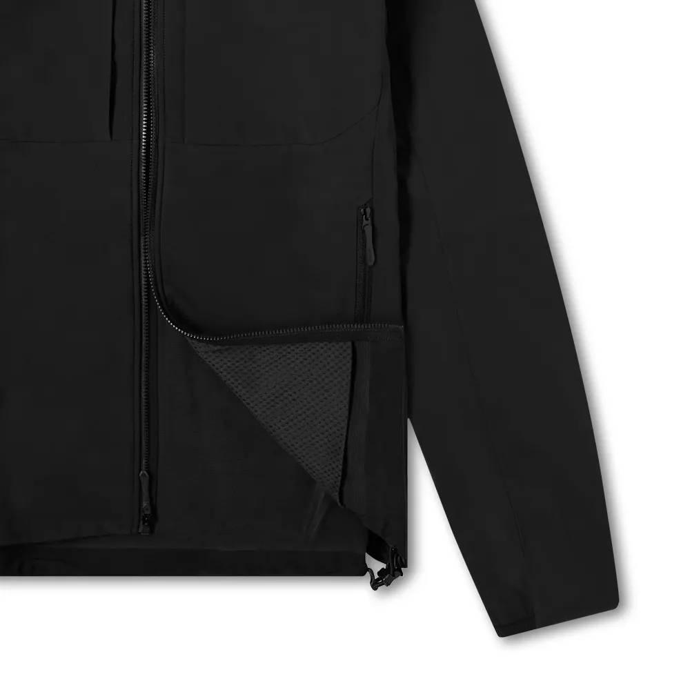 Arc'teryx Gamma MX Hooded Softshell Jacket Black Detail