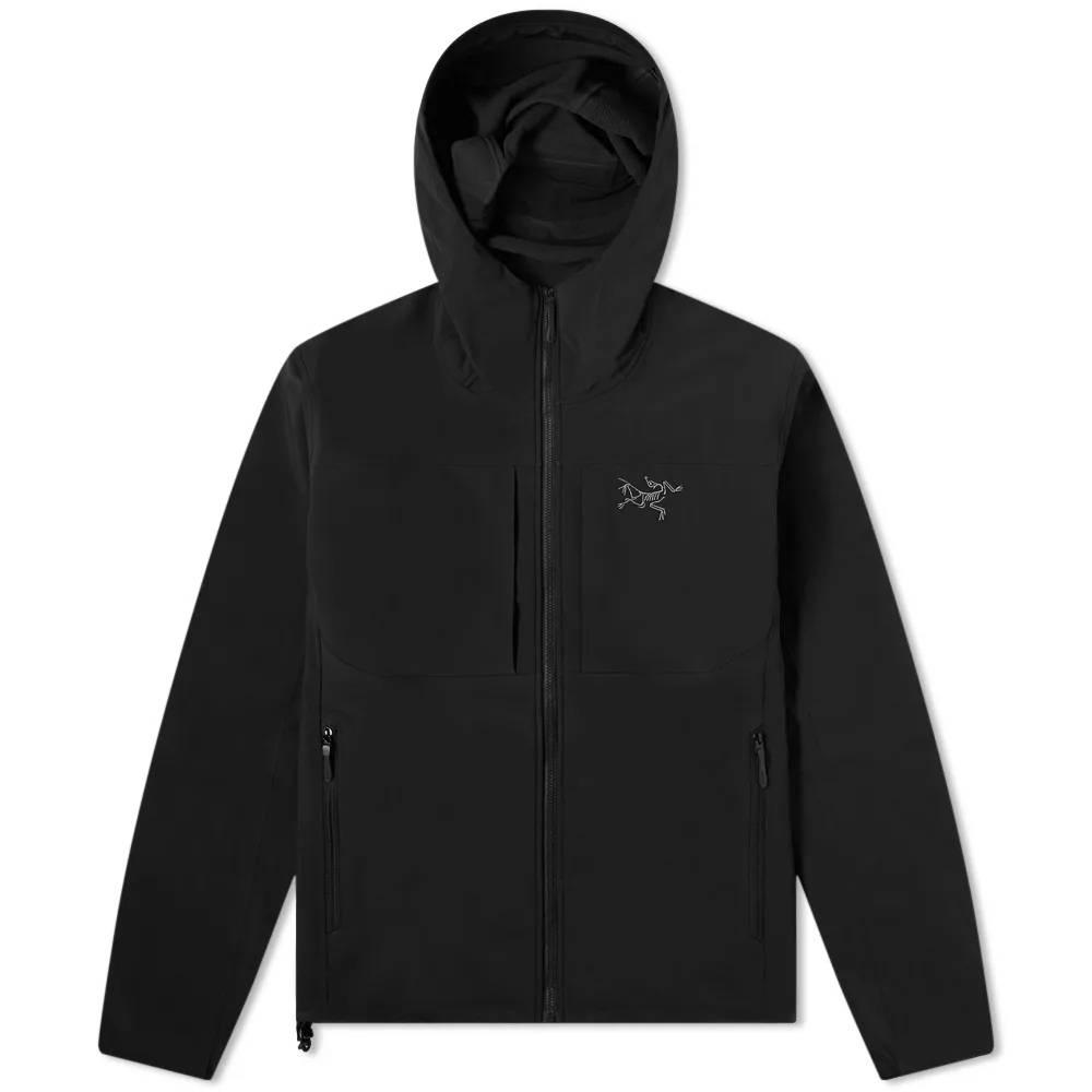 Arc'teryx Gamma MX Hooded Softshell Jacket Black