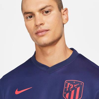 Atletico Madrid 2021-22 Stadium Away Football Shirt CV7881-422 Detail