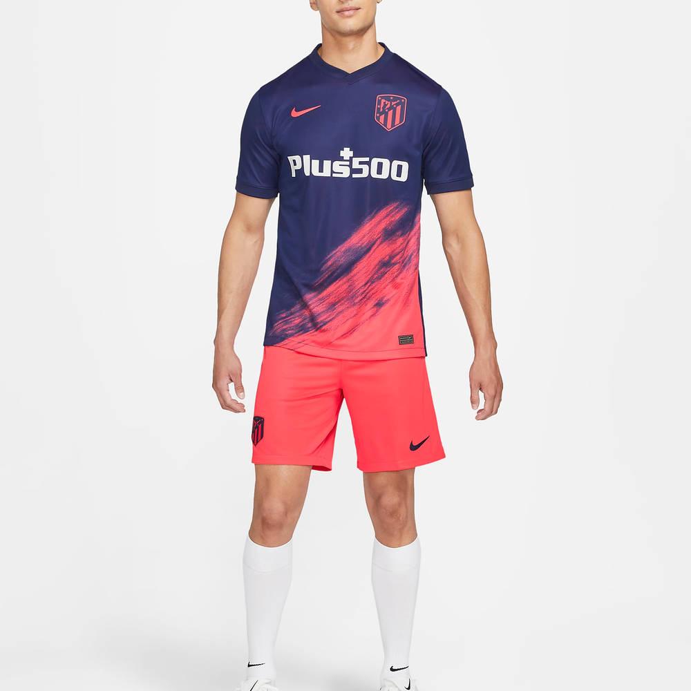Atletico Madrid 2021-22 Stadium Away Football Shirt CV7881-422 Full