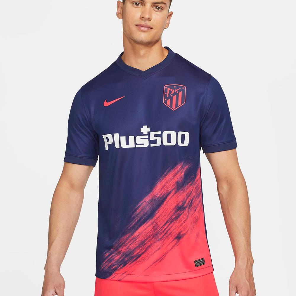 Atletico Madrid 2021-22 Stadium Away Football Shirt CV7881-422