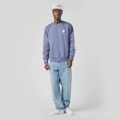 Carhartt WIP Double Knee Denim Light Wash Jeans Blue Full