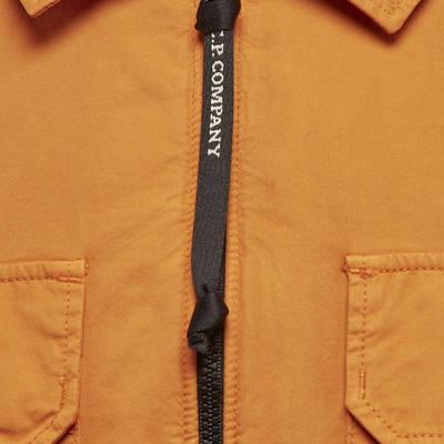 C.P. Company Gabardine Zipped Lens Shirt 11CMSH156A-002824G436 Detail 2