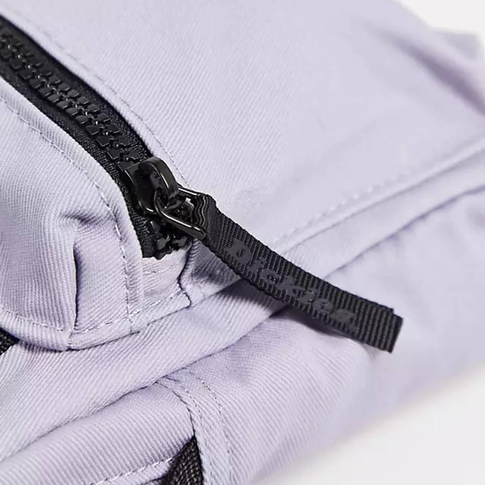 Dickies Moreauville Cross Body Bag Purple Detail