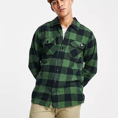 Dickies Sacramento Checked Shirt Green