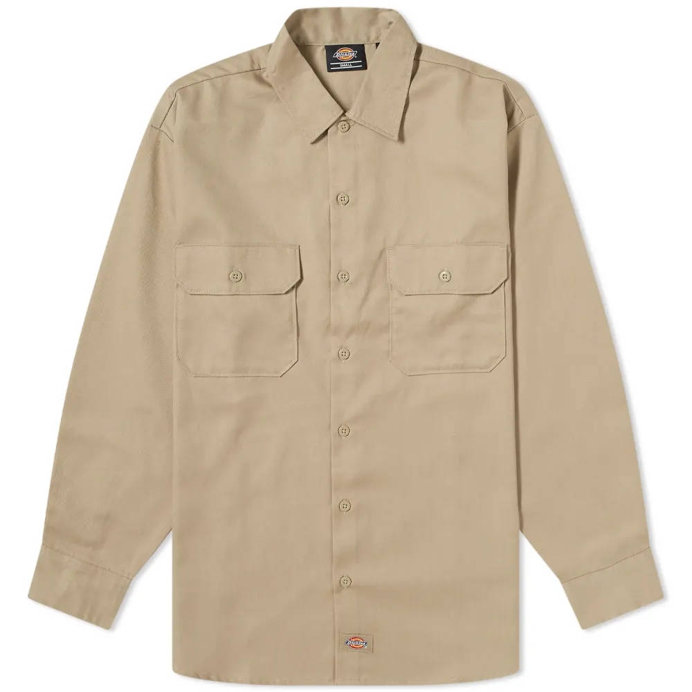 Dickies Work Shirt Khaki