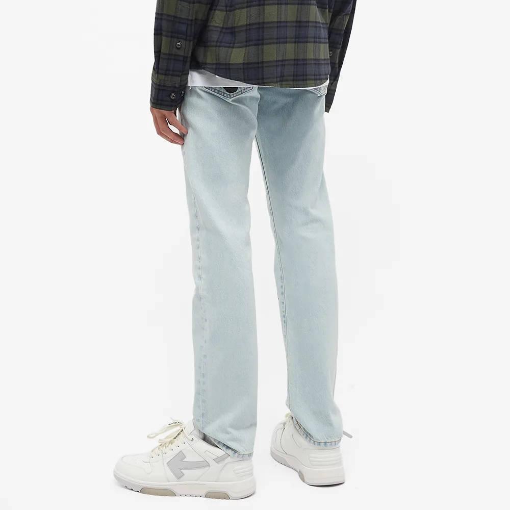 END. x Off-White Bandit Slim Jeans OMYA102T21DEN0034010 Back