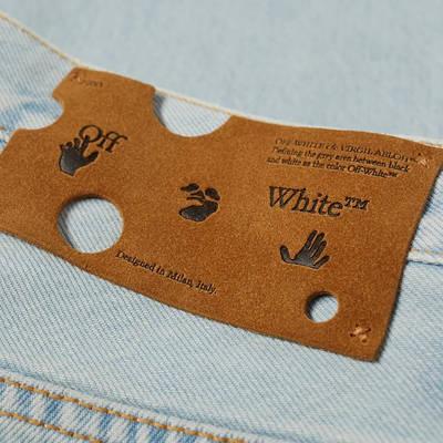END. x Off-White Bandit Slim Jeans OMYA102T21DEN0034010 Detail