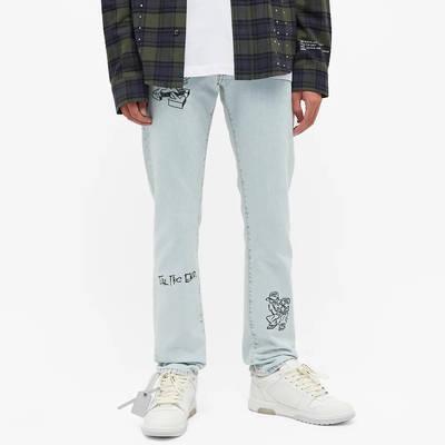 END. x Off-White Bandit Slim Jeans OMYA102T21DEN0034010 Front