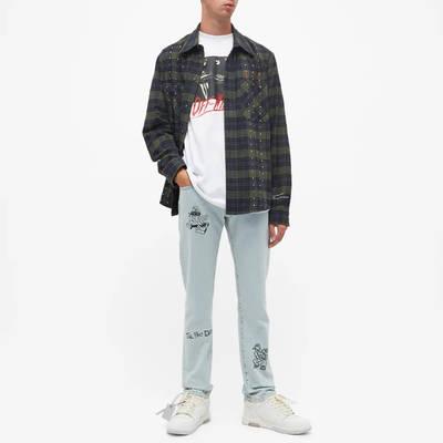 END. x Off-White Bandit Slim Jeans OMYA102T21DEN0034010 Full