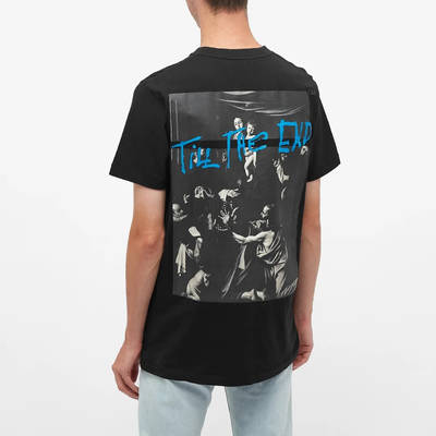 END. x Off-White Caravaggio T-Shirt OMAA027T21JER0671040 Back