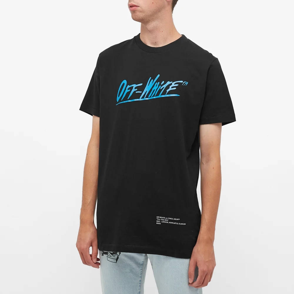 END. x Off-White Caravaggio T-Shirt OMAA027T21JER0671040 Front