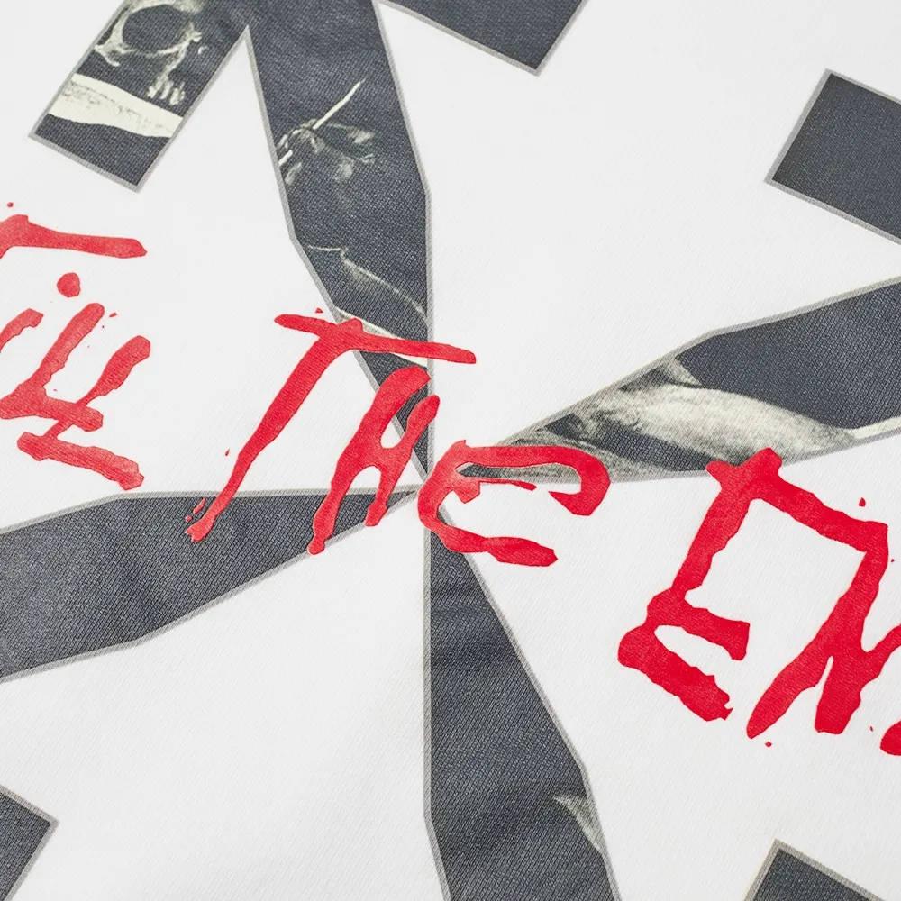 END x Off-White San Girolamo Crew Sweatshirt OMBA025T21FLE0040125 Detail 2