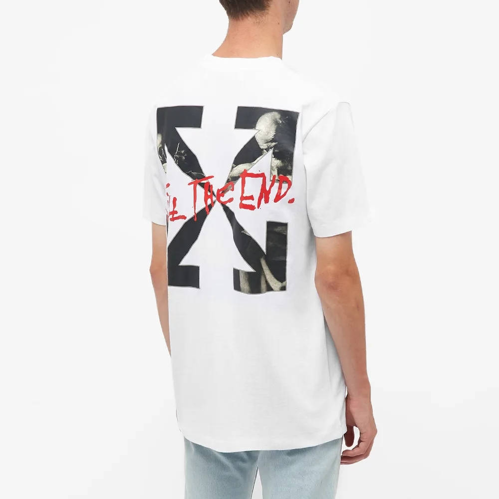 END x Off-White San Girolamo T-Shirt OMAA027T21JER0680125 Back