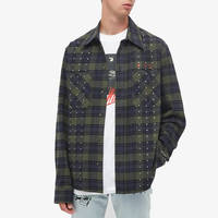END x Off-White Till The End Flannel Shirt OMGA133T21FAB0024555 Front