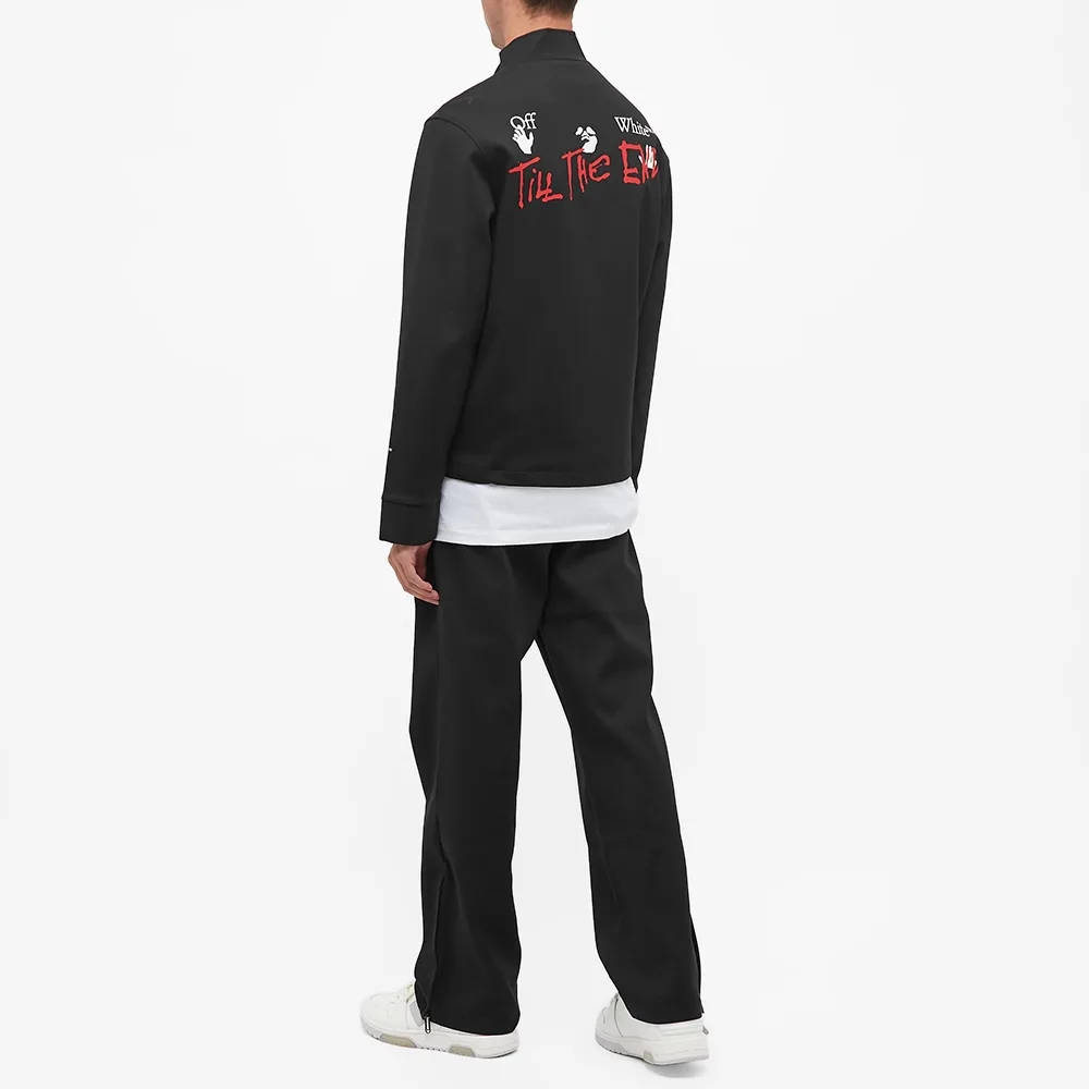 END x Off-White Till The End Track Jacket OMBD014T21FAB0021025 Full