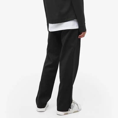 END x Off-White Till The End Track Pants OMCA104T21FAB0021000 Back