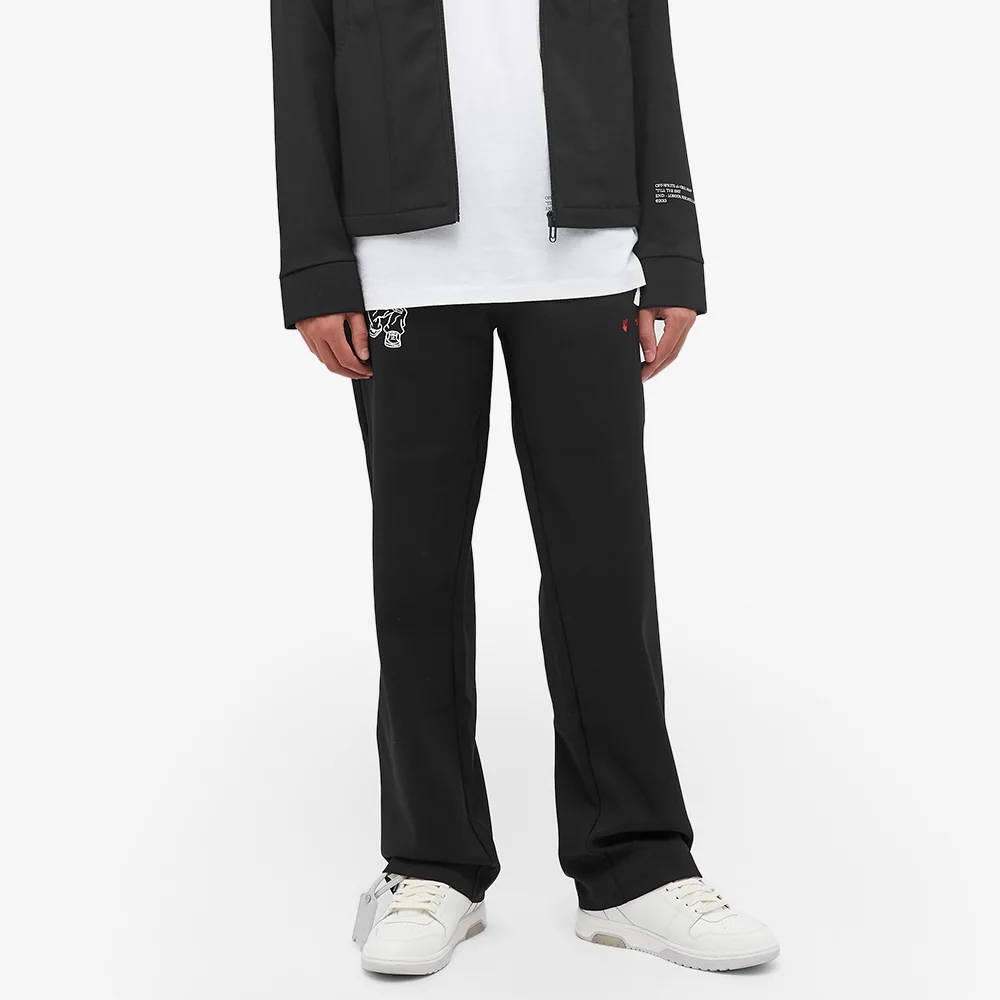 END x Off-White Till The End Track Pants OMCA104T21FAB0021000 Front