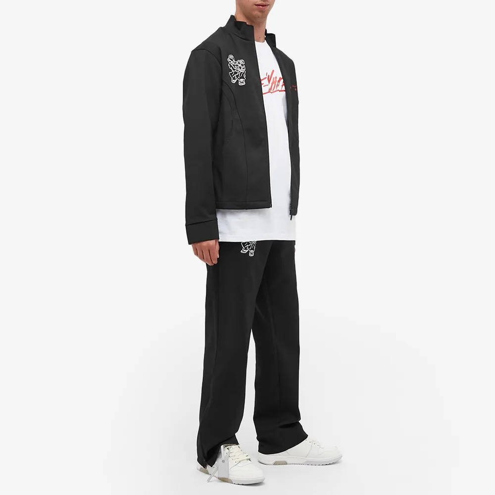 END x Off-White Till The End Track Pants OMCA104T21FAB0021000 Full