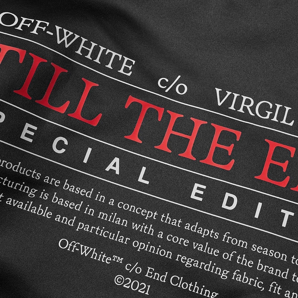 END x Off-White Till The End Varsity Jacket OMEA267T21FAB0031025 Detail 2