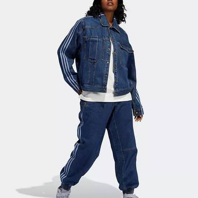 IVY PARK x adidas Denim Jeans Dark Navy Full