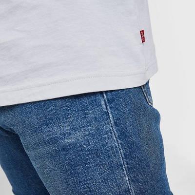 Levi's Baby Tab T-Shirt Grey Detail