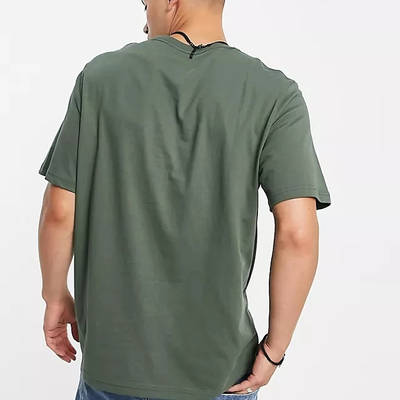 Levi's Relaxed Fit Boxtab Logo T-Shirt Dark Green Back