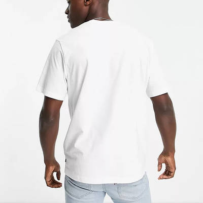 Levi's Relaxed Fit Collegiate Logo T-Shirt White Back