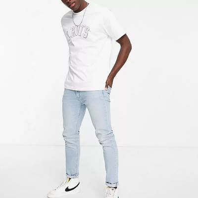 Levi's Relaxed Fit Collegiate Logo T-Shirt White Full