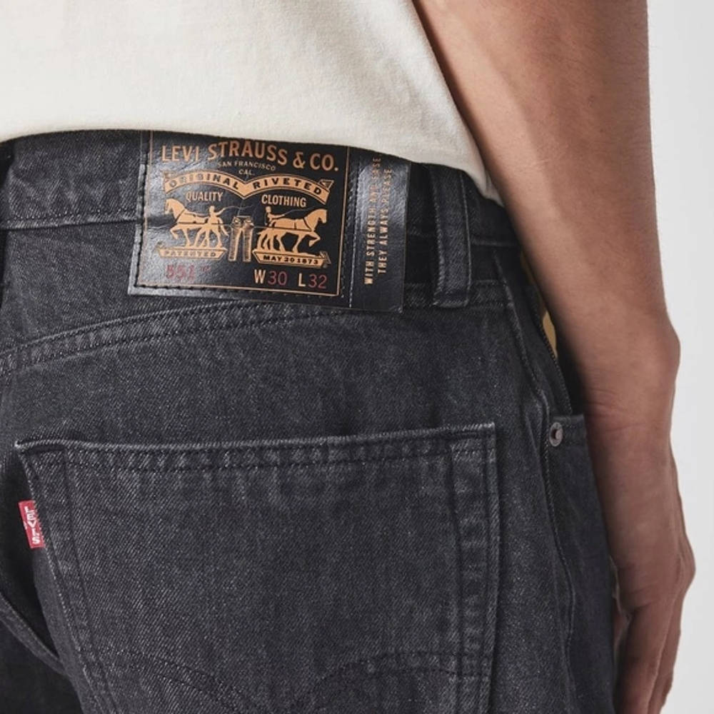 Levis Skate 551 Z Jeans Detail