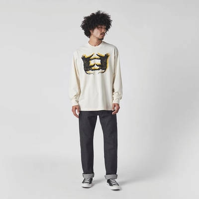 Levi's Skate Leopard Long Sleeve T-Shirt White Full