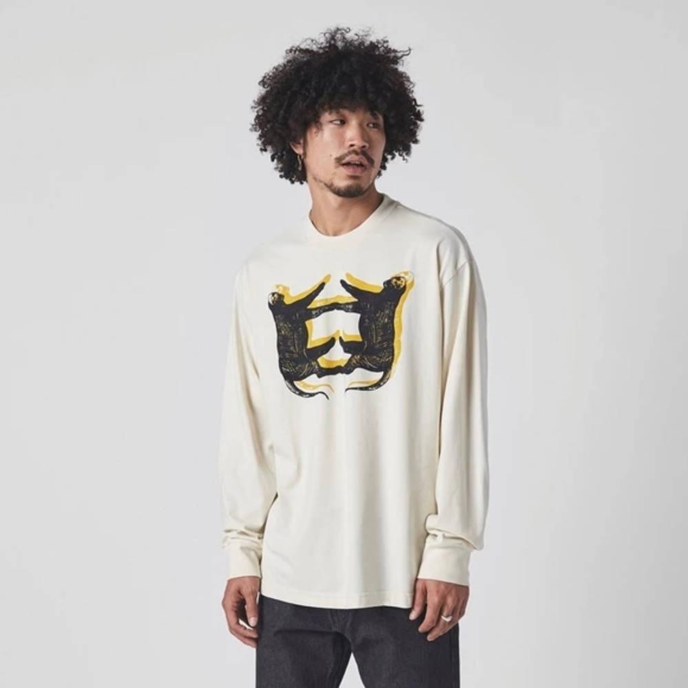 Levi's Skate Leopard Long Sleeve T-Shirt White