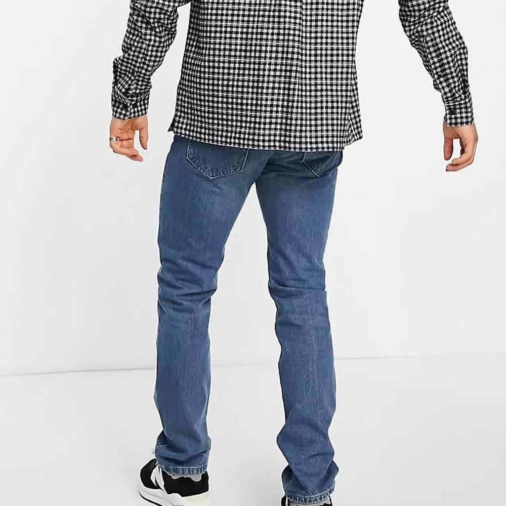 Levi's Skateboarding 511 Slim Fit Jeans Mid Blue Back