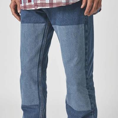 Levis Skateboarding 511 Straight Jeans Blue Detail 2