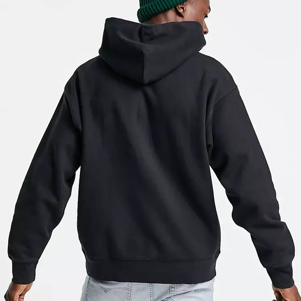 Levi's Skateboarding Kangaroo Pocket Relaxed Fit Hoodie Black Back
