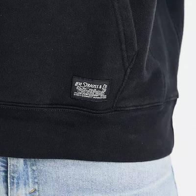 Levi's Skateboarding Kangaroo Pocket Relaxed Fit Hoodie Black Detail