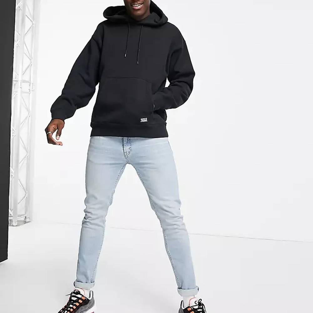 Levi's Skateboarding Kangaroo Pocket Relaxed Fit Hoodie Black Full