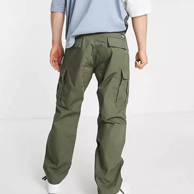 Levi's Skateboarding Ripstop Cargo Trousers Dark Green Back